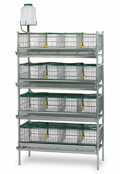 2016 new hot sale quail breeding cage