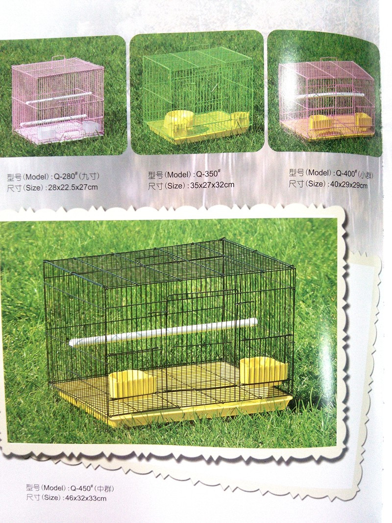 market hot sale PVC Coated bird cage