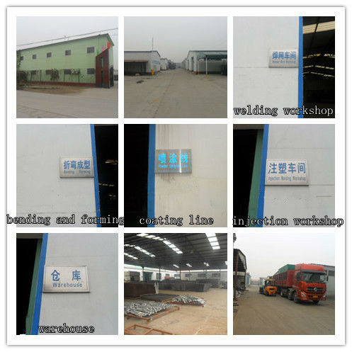 Wholesale alibaba China CE&ISO 9001 prefabricated steel fence(pro manufacturer)