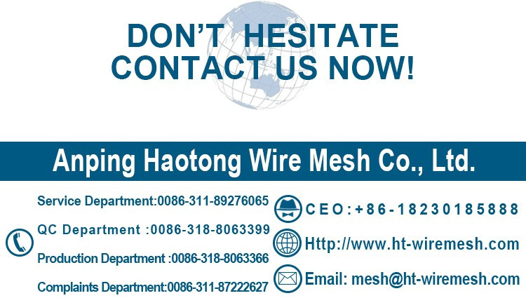 haotong high quality 6x6 concrete reinforcing welded wire mesh
