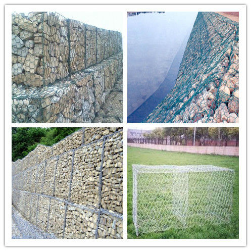 alibaba China wholesale CE&ISO certificated pvc gabion baskets/gabion wire mesh(hexagonal wire netting)(pro manufacturer)