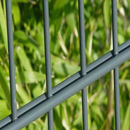 wholesale China CE&ISO certificated pvc coated double wire fencing(professional manufacturer)
