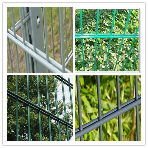 Chinese Powder Coated CE&ISO certificated Double Wire Mesh Fence(professional manufacturer)