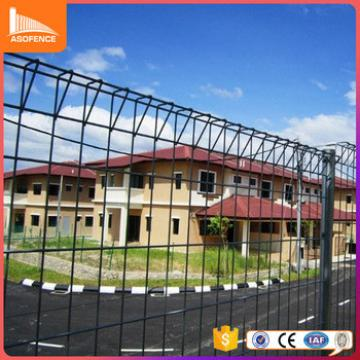 Powder painted Roll Top Fence / Korea Welded Wire Mesh Fencing For Sale