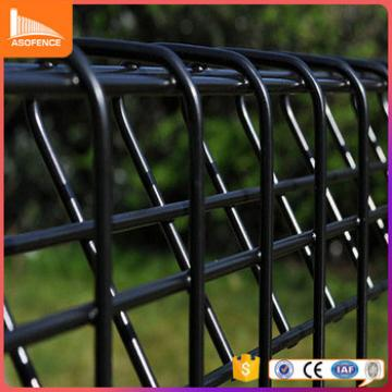 Korea /Malaysia popular HDG / Powder coating Rolled top Fencing