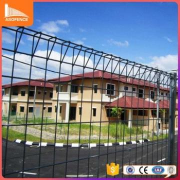 Garden Fence Panel / Korea Radian Roll Top Wire Mesh Fence/ Rolled Top Mesh Fencing
