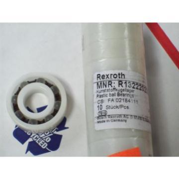 R132220200 REXROTH PLASTIC BALL BEARING SINGLE ROW 1 3/8HEIGHT 9/16DIA 7/16W