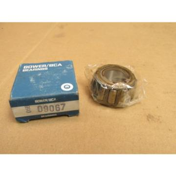 "NIB BOWER BCA 09067 TAPERED ROLLER BEARING 09067 19 mm 3/4""  BORE"