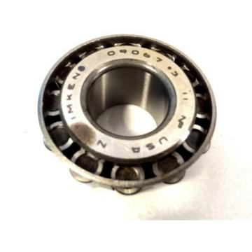 "09067#3 Tapered Roller Bearing Single Cone 0.7500"" ID X 0.7500"" Width"