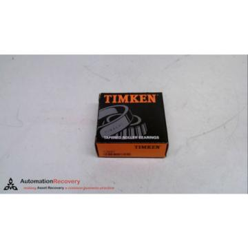 """TIMKEN 13687, TAPERED ROLLER BEARING, BORE: 1.5"""", CUP O.D: 2.7"""", NEW #231034"""
