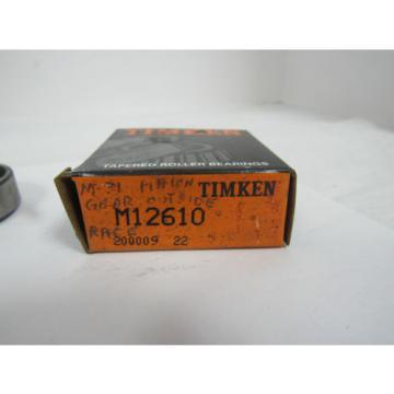 TIMKEN TAPERED ROLLER BEARING M12610