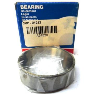 BOWER, TAPERED ROLLER BEARING CUP, 21212