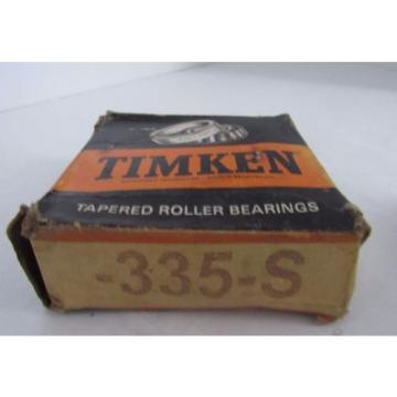 TIMKEN** TAPERED ROLLER BEARING 335-S