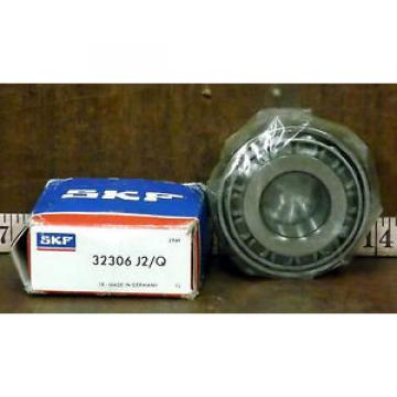 1 NEW SKF 32306 J2/Q TAPERED ROLLER BEARING ***MAKE OFFER***