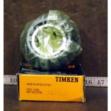 New TIMKEN SBN 72212CTRB Tapered Roller Bearing Cone