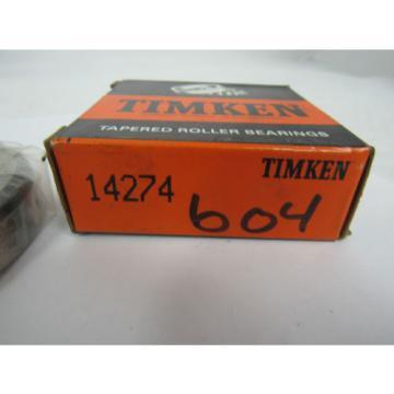 TIMKEN TAPERED ROLLER BEARING 14274