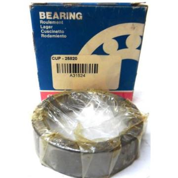 BOWER TAPERED ROLLER BEARING CUP 25820 SERIES 25800