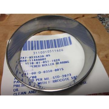 Tapered Aerospace Roller Bearing Cup NSN: 3110010511626