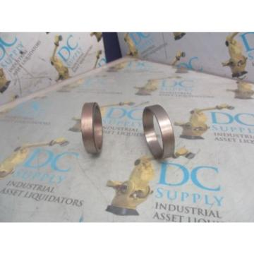 4T-LM102910 TAPERED ROLLER BEARING CUP LOT OF 2 NEW
