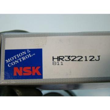 """NSK 4.33""""(110mm) Diameter Tapered Roller Bearing HR32212J"""