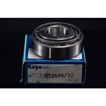 2pcs. Koyo Bearings M12649/10 Taper Roller Wheel bearing One Bearing Car Parts