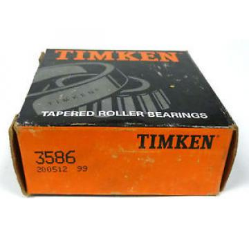 Timken 3586 Single Cone Tapered Roller Bearing 1.781 x 1.216 in.
