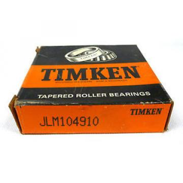 Timken JLM104910 Tapered Roller Bearing Outer Race Cup