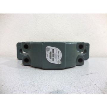 RX-642 DODGE 023199 TAPERED ROLLER BEARING PILLOW BLOCK. STYLE KDI. SERIES 509.