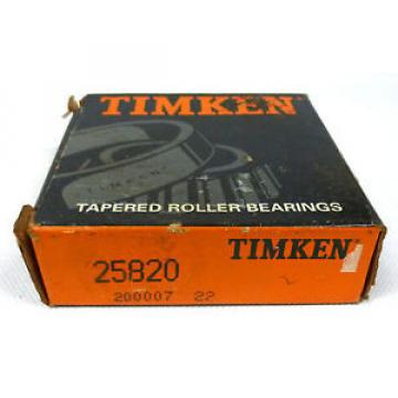 25820 Tapered Roller Bearing Outer Race Cup