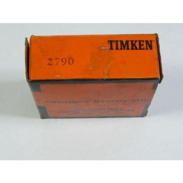 Timken 2790 Tapered Roller Bearing  NEW