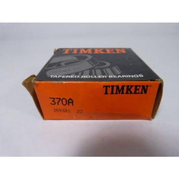 Timken 370A Tapered Roller Bearing ! NEW !