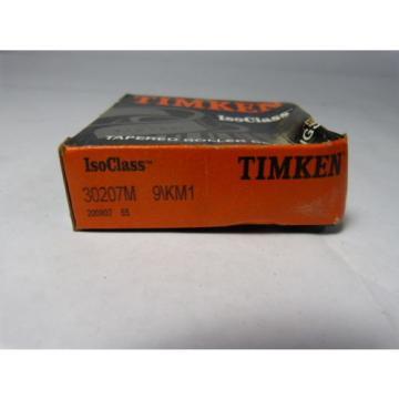 Timken 30207M-9/KM1 Bearing Roller Tapered 35 X 72 X 18.25 MM ! NEW !