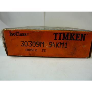 Timken 30309M9/KM1 Tapered Roller Bearing ! NEW !
