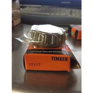 TIMKEN 15117 TAPERED ROLLER BEARING NEW IN BOX