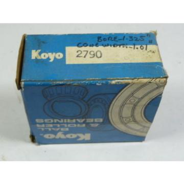 KOYO 2790 Tapered Roller Bearing ! NEW !