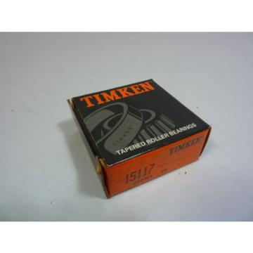 15117 Tapered Roller Bearing   NEW