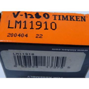 LM11910 Tapered Roller Bearing Cup