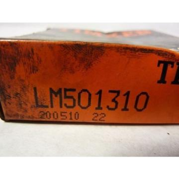 Timken LM501310 Tapered Roller Ball Bearing 2.891 x 0.58 Inch ! NEW !