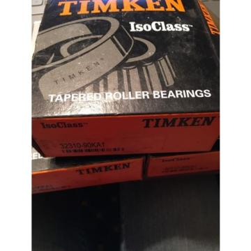 ISOClass 32310-90KA1 Tapered Roller Bearings-New In Box