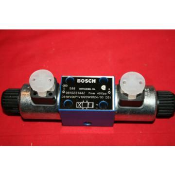 NEW Bosch Rexroth Hydraulic Flow Control Valve 9 810 231 442 9810231442 - BNWOB