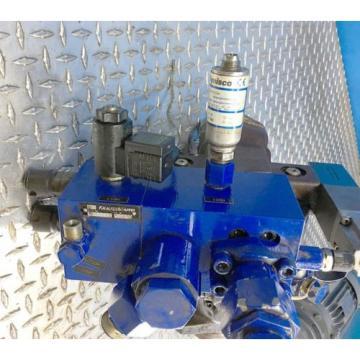 BOSCH REXROTH R900739067 PISTON PUMP HYDRAULIC MOTOR FLOW CONTROL SYSTEM
