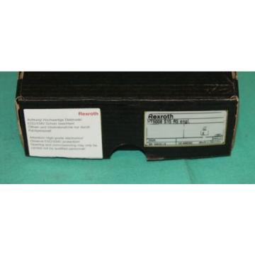 Rexroth, VT5008,  VT-5008, Hydraulic Valve Bosch Proportional Amplifier Servo Ca