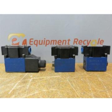 Rexroth R978879843 Electric Solenoid Control Valve Lot of 3