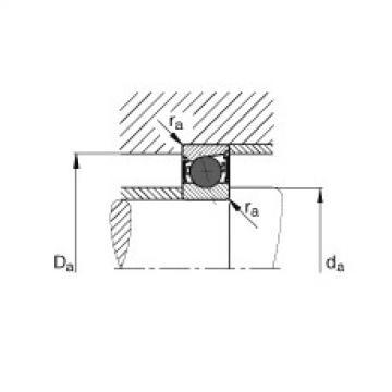 FAG Germany Spindle bearings - HCB71901-E-2RSD-T-P4S
