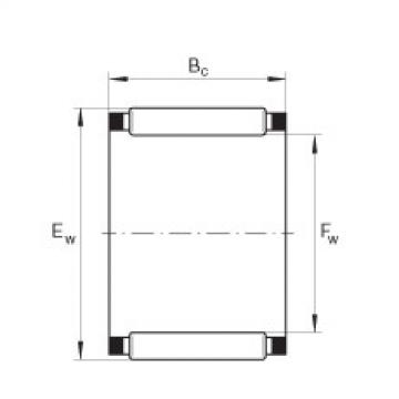 FAG Germany Needle roller and cage assemblies - K4X7X10-TV