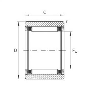 FAG Germany Needle roller bearings - NK5/12-TV-XL