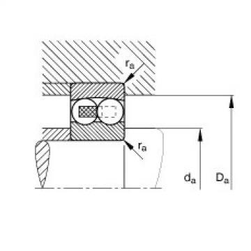 FAG Germany Self-aligning ball bearings - 127-TVH