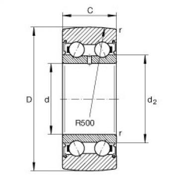 FAG Germany Track rollers - LR50/6-2RSR