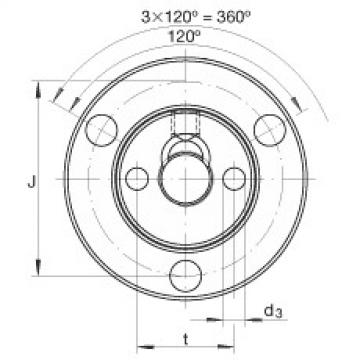 FAG Germany Axial conical thrust cage needle roller bearings - ZAXFM0635