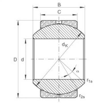 FAG Germany Radial spherical plain bearings - GE10-PB